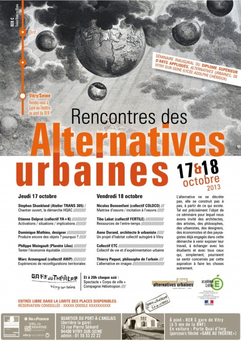 Rencontres des Alternatives Urbaines #1