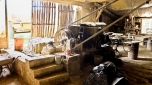 Extrusion des carreaux, tuiles et briques à travers une filière...